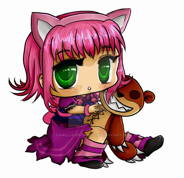 annie chibi cartoon