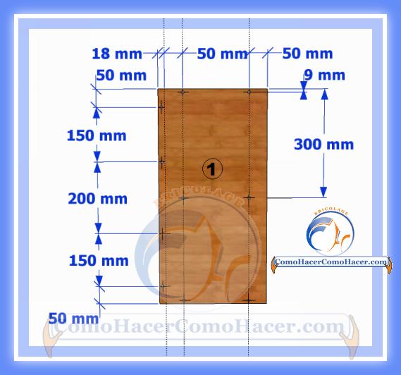Esquinero de cocina plano y medidas web del bricolaje for Como se dan las medidas de un mueble