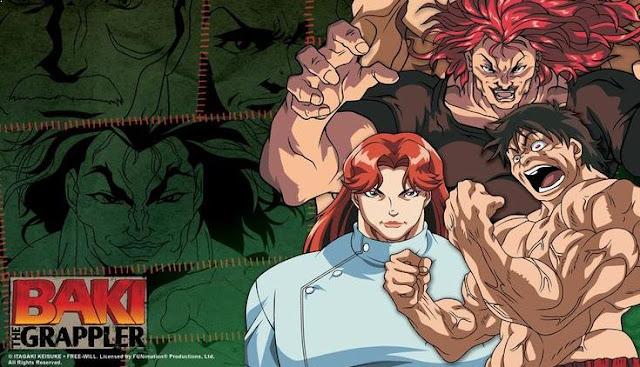 Grappler Baki - Daftar Anime Martial Arts Terbaik dan Terpopuler