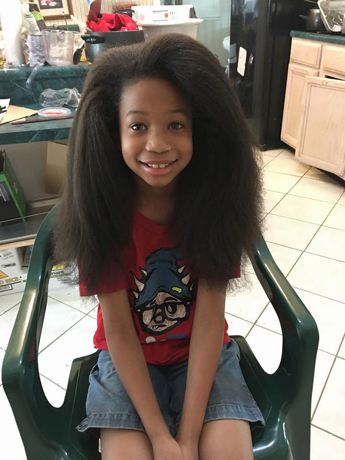 This 10-Year-Old Boy Spent 2 Years Growing His Hair To Make Wigs For Kids With Cancer - For the next two years!