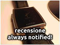 Recensione - always notified!