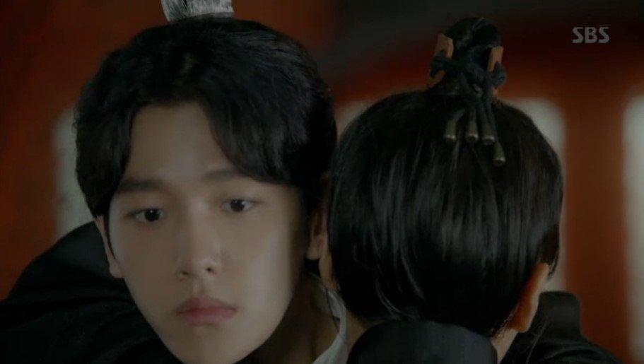 161004 Baekhyun at SBS Moon Lovers (Scarlet Heart: Ryeo) Episode 13