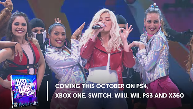 Just Dance 2018 Ubisoft coming out on PlayStation 4 3 Nintendo Switch Wii U Xbox One 360 all consoles