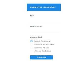 Cara Menambah Petugas (Staf) Aplikasi E-RKAM