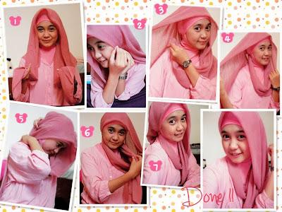 Tutorial Hijab Pesta Sederhana Tapi Elegan  10 Tutorial Hijab Pesta Simpel Tapi Elegan 2018