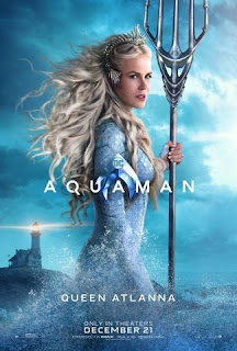 """Pósters de personaje de la película """"Aquaman""""."""