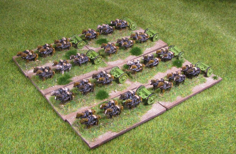 On Wargames and Such: Baccus 6mm ACW artillery limbers & wagons