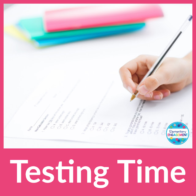 This post includes some great advice for online testing as well as a freebie.