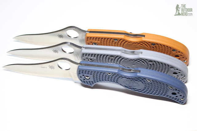 Spyderco HAP40 Stretch - Stretch Triplets 6