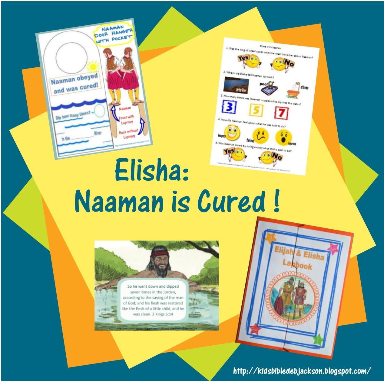 Bible Fun For Kids Elisha Amp Naaman