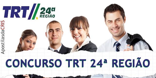 apostila concurso trt 24 ms - técnico judiciario