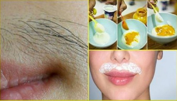 Reduce facial hair in women