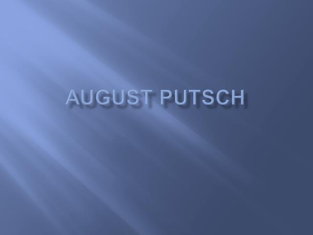 August Putsch