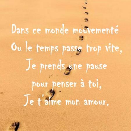 Messages Doux Damour Et Tendresse Poèmes Et Textes Damour