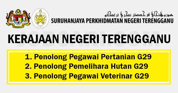 Jawatan Kosong Di Kerajaan Negeri Terengganu Gaji Rm1 494 00 Rm5 674 00 Jobcari Com Jawatan Kosong Terkini