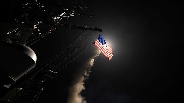 الضربة الامريكية