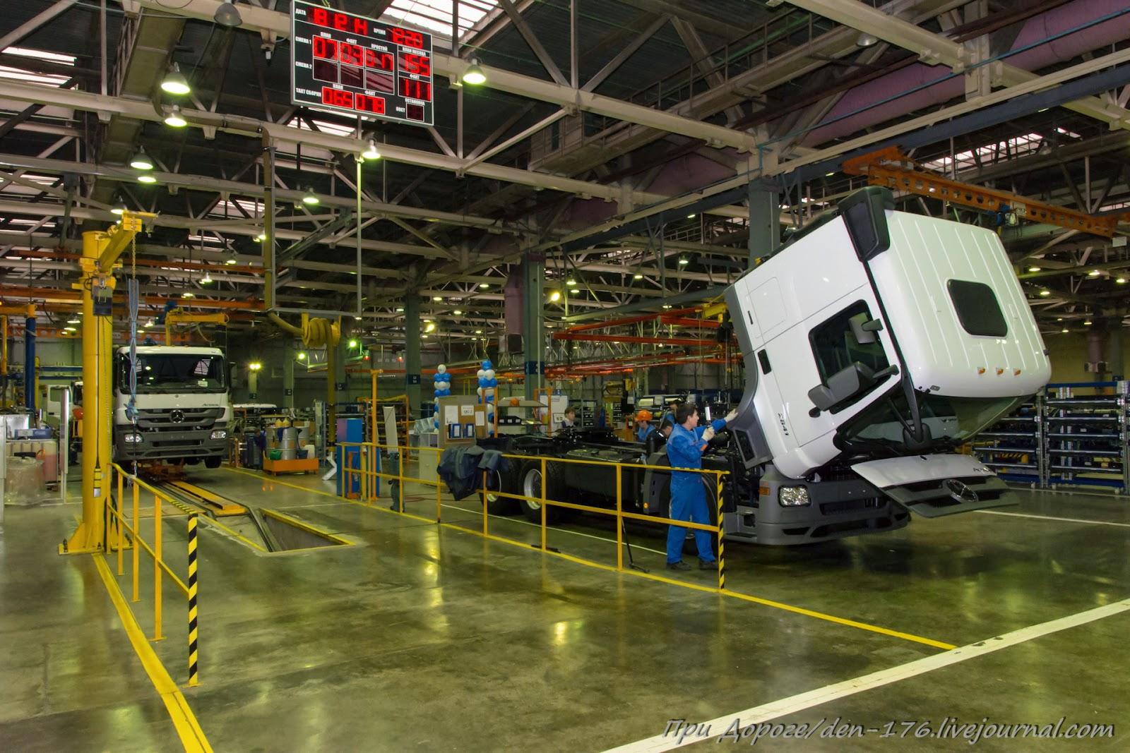 How to make MBTV 19 Mercedes Benz trucks in Naberezhnye Chelny