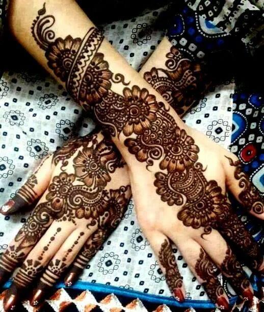 Indian Mehndi Designs  Top 10 Best Mehndi Designs  WFwomen