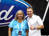 NASCAR Race Mom with Joey Hand at the Las Vegas Barrett-Jackson Auction