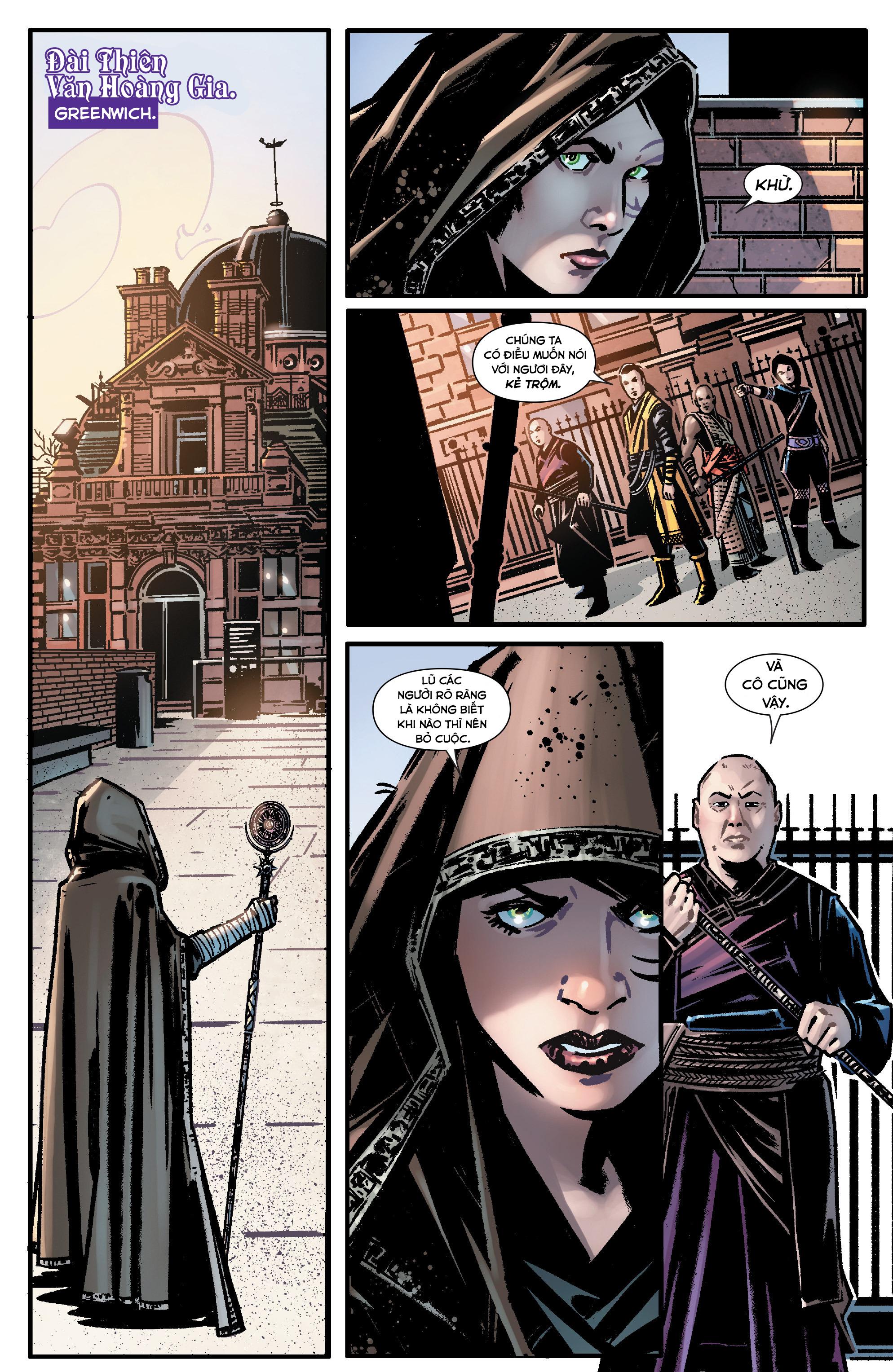 Doctor Strange Prelude kỳ 1 trang 11
