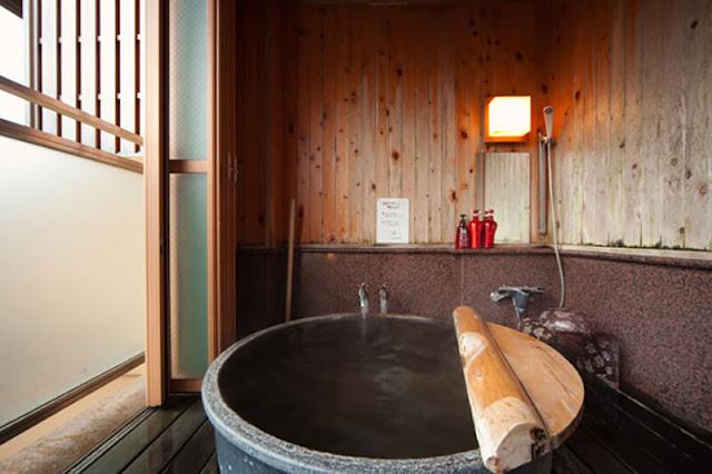 湯布院Kahori之鄉Hana村 Yufuin Kahori-no-Sato Hanamura 房內私人風呂