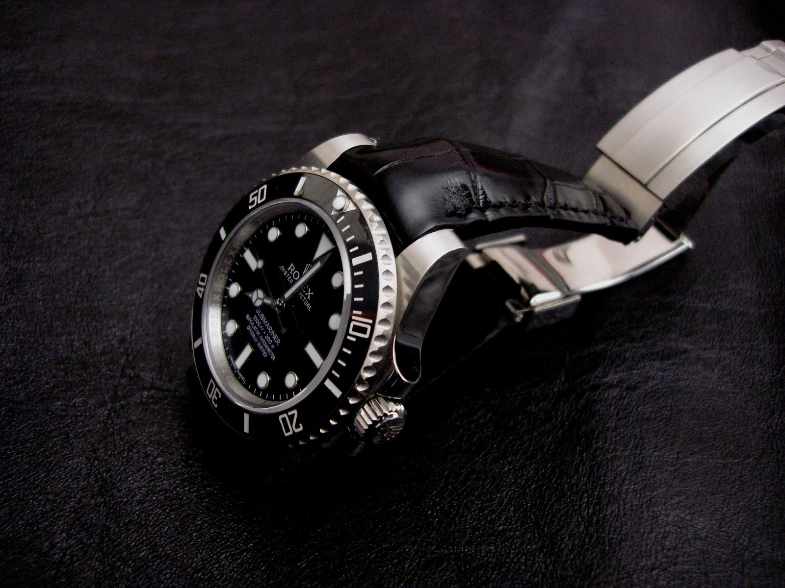 Dangerous9straps Rolex Submariner On Million Dollar