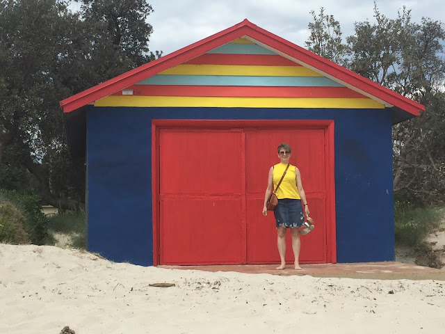 The colouful beach houses of Sorrento, Mornington Peninsula