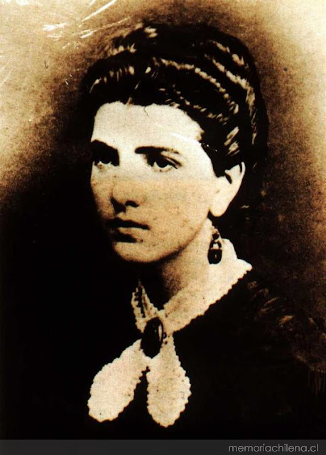 Carmela Carvajal de Prat (Quillota, región de Valparaíso, 16 de julio de 1851 - 16 de agosto de 1931)