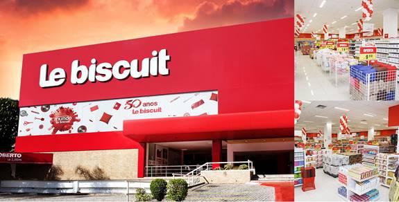 Le biscuit anuncia seu novo modelo de negócio via franchising, na ABF Expo 2018