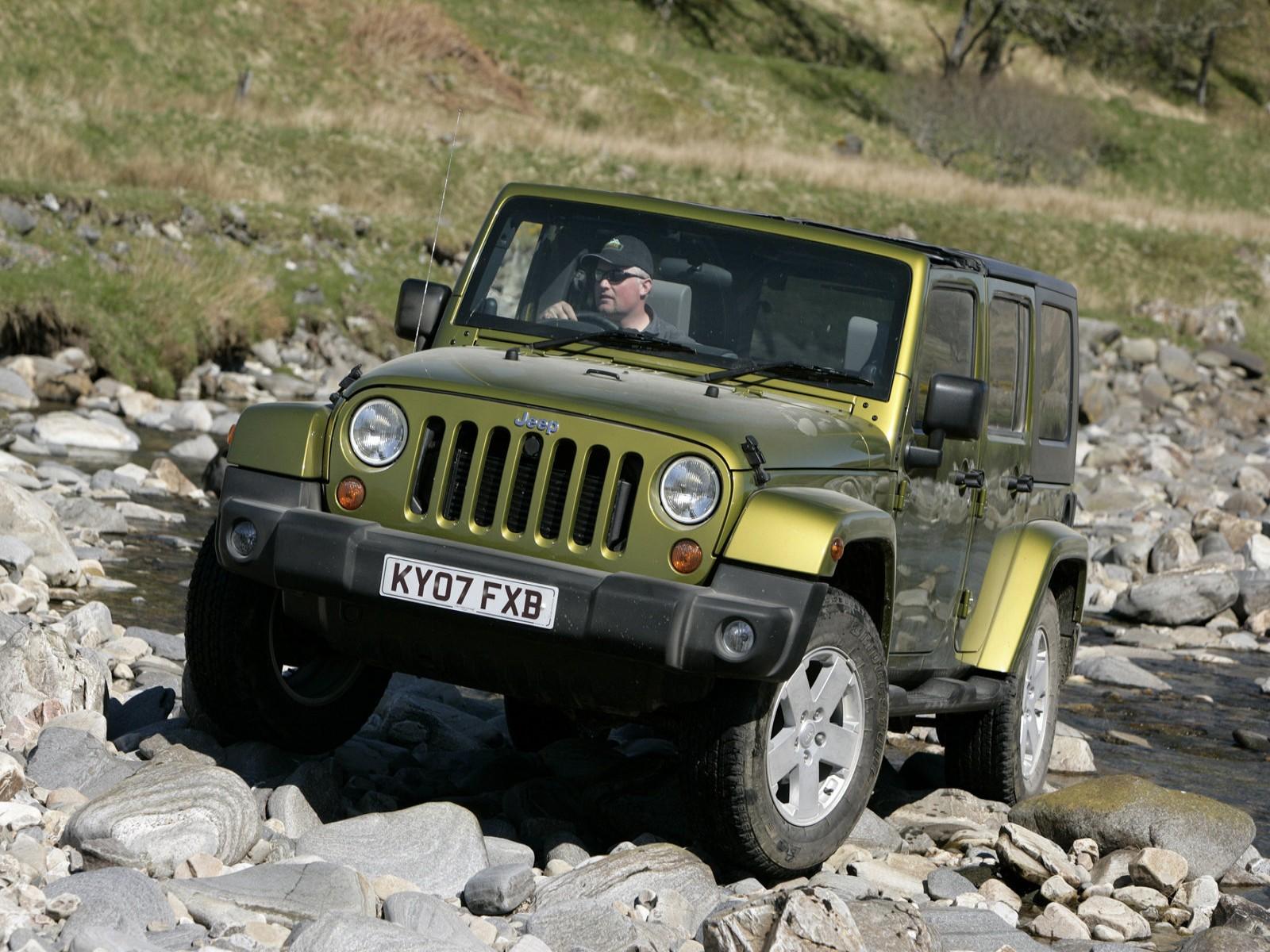 jeep jeep wrangler unlimited uk version 2008. Black Bedroom Furniture Sets. Home Design Ideas