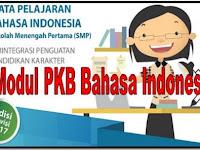 Unduh Modul PKB Bahasa Indonesia Sekolah SMP/MTs Edisi Revisi 2017