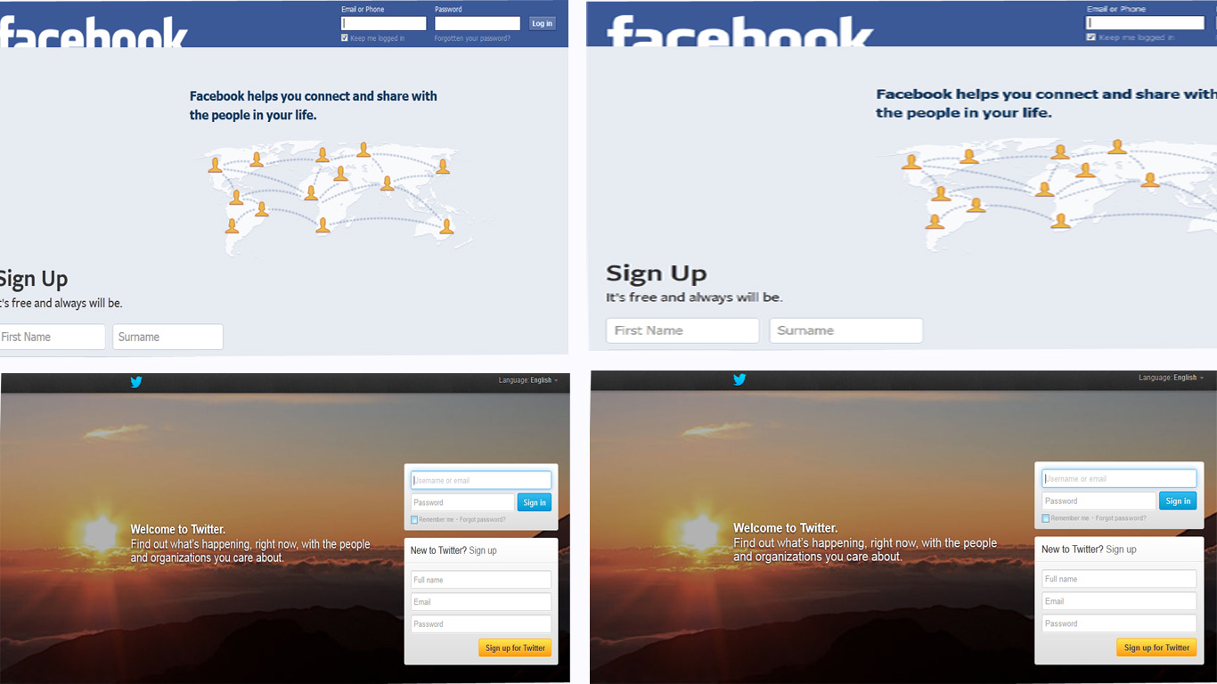 Learner Area: How to log in multiple Facebook, Twitter