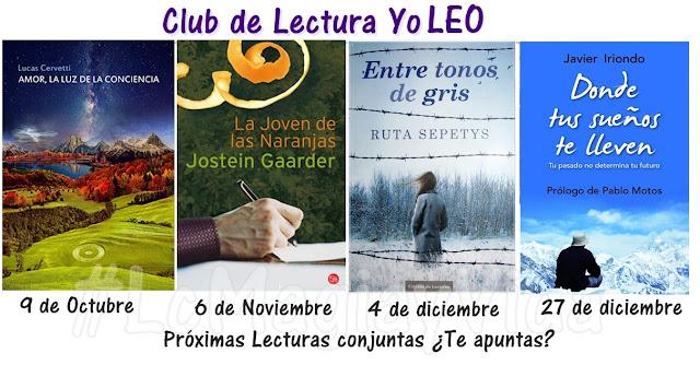 Pr�ximas lecturas del Club de lectura YO LEO