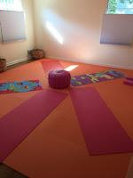 Greatmats foam interlocking mats yoga room