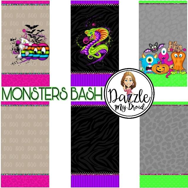 Monsters BASH wallpapers freebie