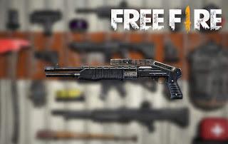 senjata terbaik free fire spas12