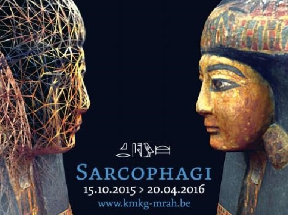 'Sarcophagi: Under the stars of Nut' at the Cinquantenaire Museum, Brussels