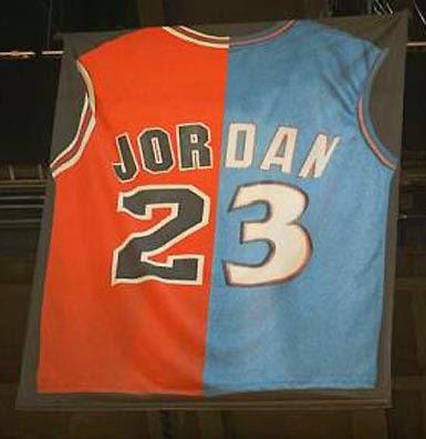 El dorsal que retiro MIami Heat en honor a MIchael Jordan