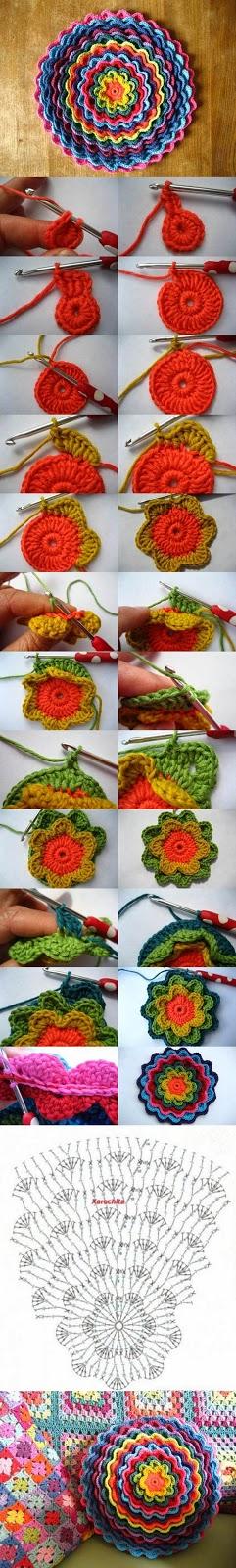 DIY Cojín Flor Floreciente