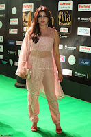 Nidhi Subbaiah Glamorous Pics in Transparent Peachy Gown at IIFA Utsavam Awards 2017  HD Exclusive Pics 67.JPG