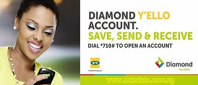 MOBILE MONEY FROM DIAMOND Y'ELLO ACCOUNT/MTN PARTNERSHIP | HOW TO OPEN