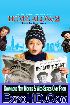 Home Alone 2 Lost in New York 1992 Dual Audio 480p    BluRay 720p [ 500Mb] Watch Online