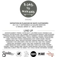 7/09/2016 Road to Mukono / Swinton Gallery / Madrid 2016