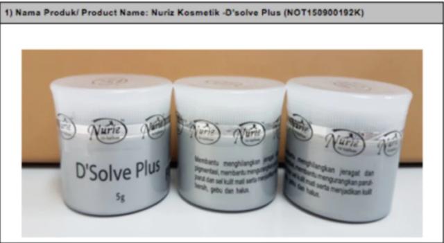 KKM Haramkan Serta Merta Penjualan 7 Produk Kosmetik Ada