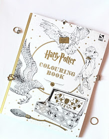 harry, harry potter, book, colouring