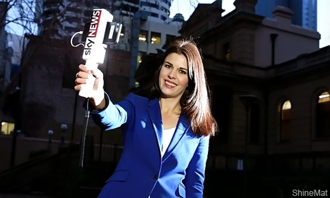 selfie stick for tv reporters