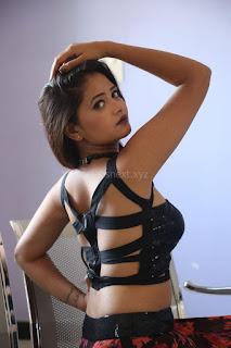 Shriya Vyas in a Tight Backless Sleeveless Crop top and Skirt 34.JPG