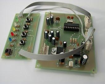 Tarjeta de control digital para amplificador de audio; funcionamiento.