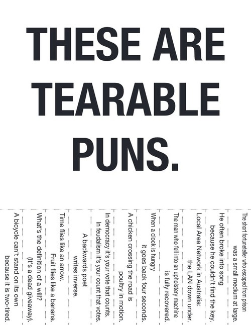 Funny Picture - Best Tearable Punography