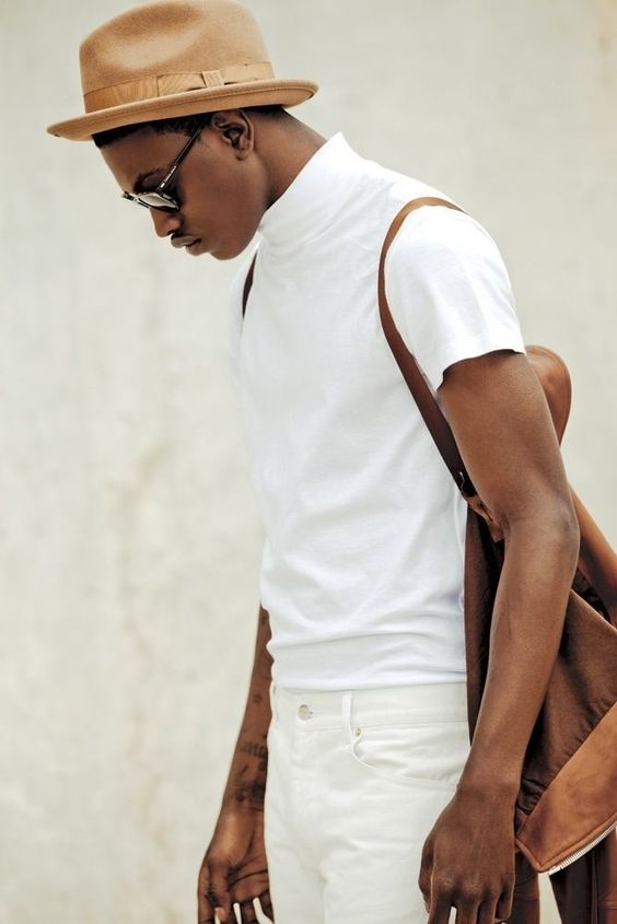 Look Masculino Branco All White